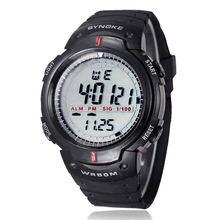Excellent Quality New Brand LED Digital Watch Waterproof Outdoor Sports Men Digital LED Quartz Alarm Watches Relogio masculino