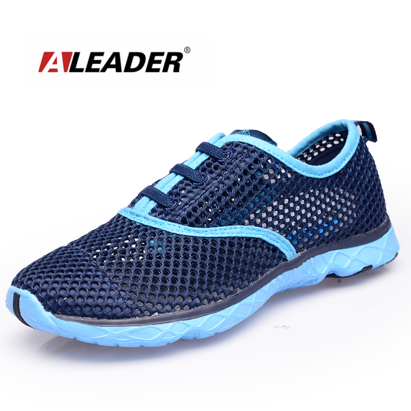 New 2016 Summer Mens Breathable Running Shoes Sport Sneakers Ladies Trainers Lightweight Mesh Shoes Slip On Outdoor Unisex Shoes
