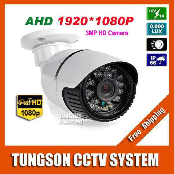 New Arrival Full HD 3MP Super AHD IMX322 Mini CCTV Camera Outdoor White/Gray Small Metal Bullet 1920P Security Surveillance(China (Mainland))