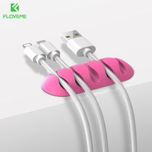 Buy FLOVEME Durable Cable iPhone Clamp Clip Rubber Cable Toggle Clip Tiny Wire Cable Organizer Desktop Workstation Clip for $1.99 in AliExpress store
