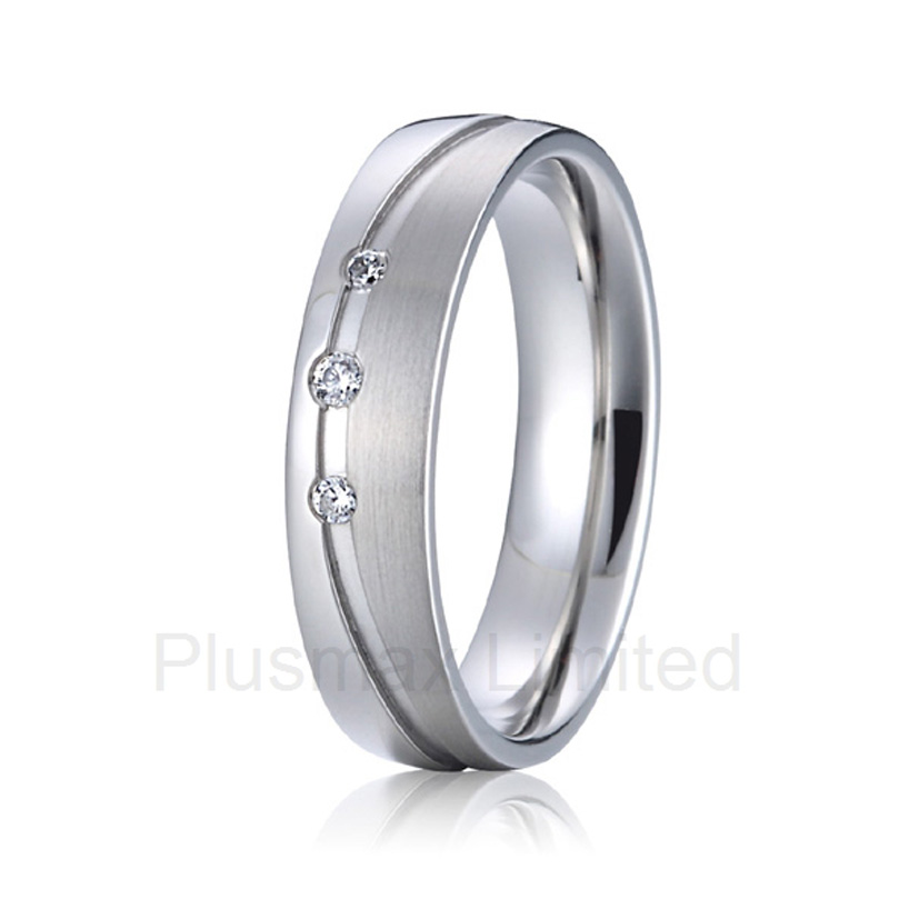 OEM/ODM wife and husband titanium jewelry partner promise wedding rings(China (Mainland))
