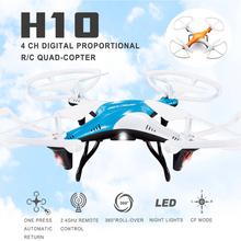 Jjrc h10 2.4g 4ch 6 axis gyro modalità headless 3d  Vibrazione rc quadcopter rtf quadcopter elicottero di telecomando olimpico ufo  Drone(China (Mainland))