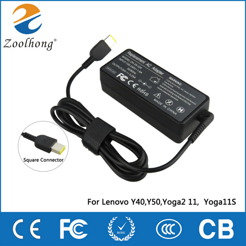 Zoolhong 20v 3 25a 65w Ac Laptop Power Adapter Charger For