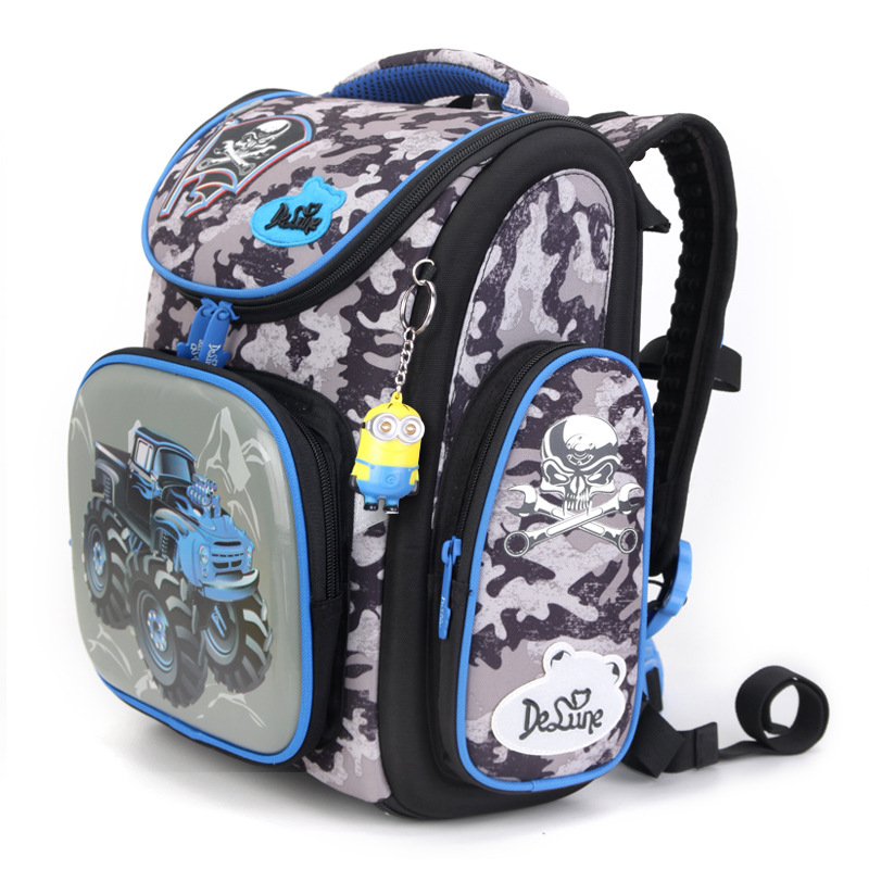 Primary School Bags Cars Cartoon Children Backpacks Large Capacity Kids Schoolbag Mochila Infantil - VC BAG store