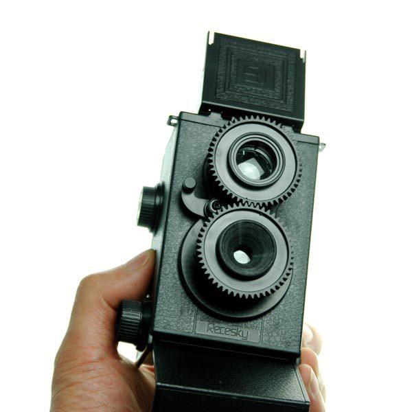 DIY Lomo Camera Science Vo1.25 Twin Lens Reflex Camera Kit(China (Mainland))
