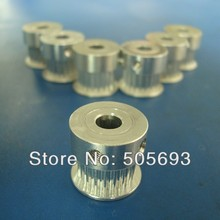 free shipping gt2 Timing Pulley 20 teeth Width 6mm,total height is14mm, Sell by package for 3D printer 10pcs/lot