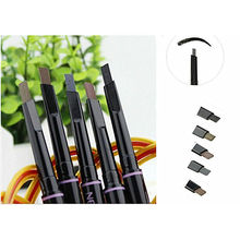 1Pcs New automatic eyebrow pencil makeup 5 style paint for eyebrows brushes cosmetics brow eye liner