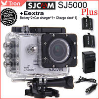 Original SJCAM SJ5000 Plus HD Camera Ambarella A7LS75 14MP  For GoPro SJ4000 WiFi Action Camera 1.5 Inch 170 Degree Waterproof