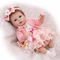 Lovely baby reborn doll toy the best birthday gift for kid child high end girl brinquedos