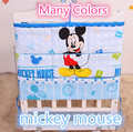 Promotion Mickey Kitty 62 52cm Diapers organizer baby bed hanging bag portable storage bedding set