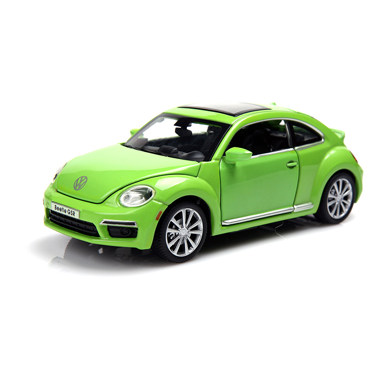 Collectible Car Models Volkswagen Beetle Alloy Diecast Car Model Toy Vehicles Electronic Car With Light&Sound Gift for Kids(China (Mainland))