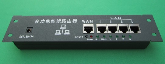 Hulled type embedded general 5 port wired routers, weak box information box for network engineering, for families, office etc.(China (Mainland))