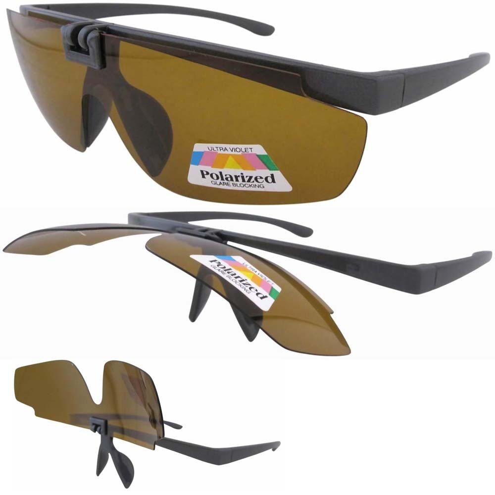 V06 Amber Lens Patent Plastic Flip up Sunglasses For Day And Night Time W/pouch Free Shipping(China (Mainland))