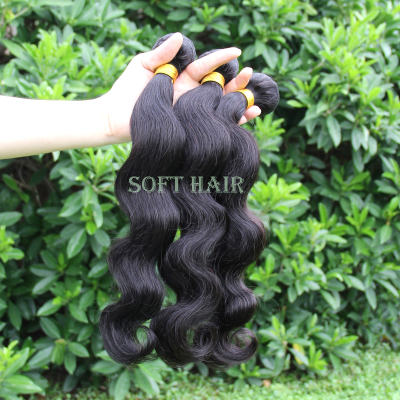 Soft hair products brazillian hair high quality 5a unprocessed virgin brazilian wet and wavy hair(China (Mainland))