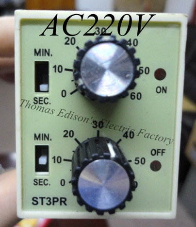 Гаджет  ST3PR electrical time relay Electronic Counter relays digital timer relay with socket base AC 220V None Электротехническое оборудование и материалы