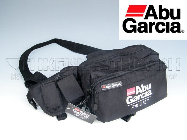 Free EMS !! 10 Pcs ABU GARCIA Waist Tackle Utility Bag Gear Bag Case Tackle Bag