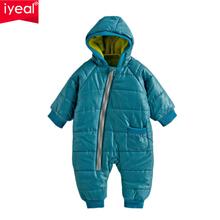 Качественные зимние детские комбинезоны толстой хлопковый костюм для мальчиков и девочек теплая одежда для малышей детская верхняя одежда 4 цвета(China (Mainland))