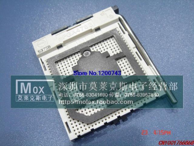 (5pcs/lot) 478 CPU connector base mPGA478B(China (Mainland))