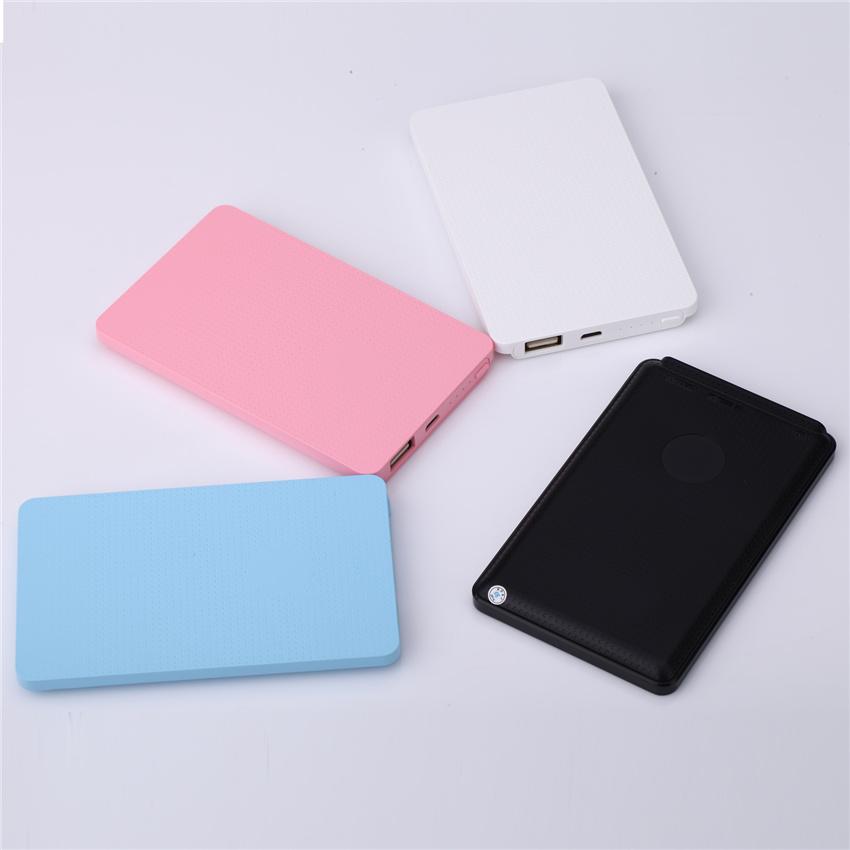 Portable Ultra-thin Power Bank 4000mAh mobile charger External Battery Carregador Backup For laptop cell phones(China (Mainland))