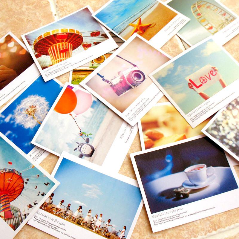10 pcs/lot vintage mini postcard paper greeting card birthday card thank you card LOMO gift cards 11*9cm<br><br>Aliexpress