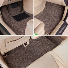 2016 New For Vios Dazzle Reiz Toyota Ralink Seine special wire circle MATS spray silk carpet car mat(China (Mainland))