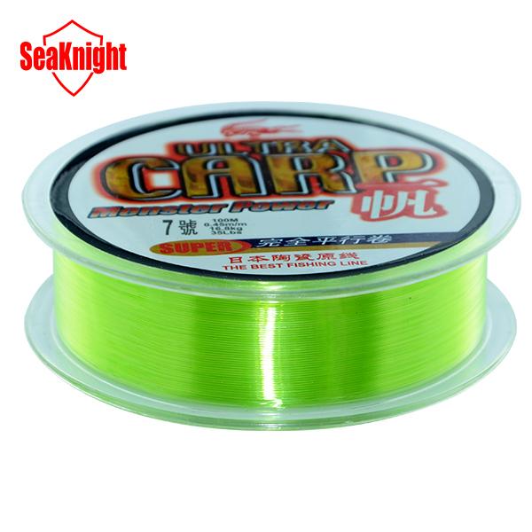 Buy seaknight brand 100m nylon fishing for Fishing line brands