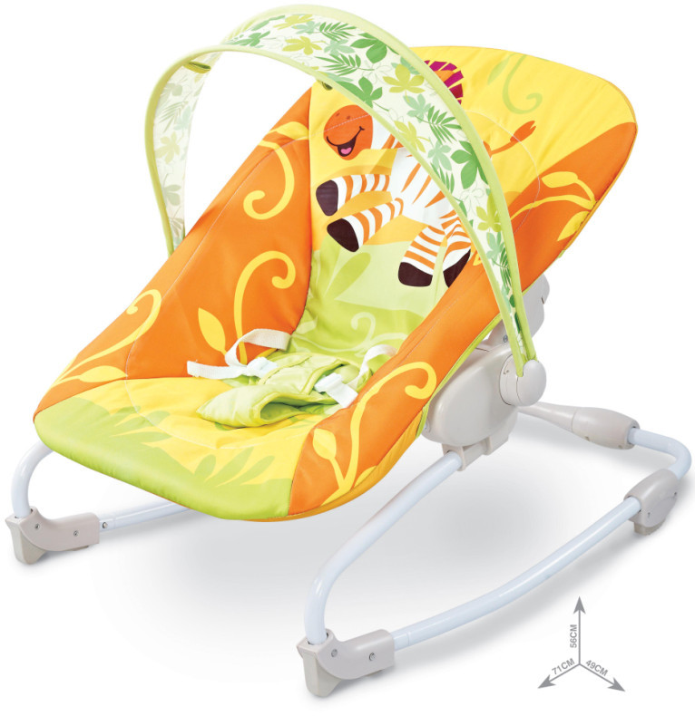 Free shipping Bright Starts Mental Baby Rocking Chair Infant Bouncers Baby Kids Recliner Vibration Swing Cradle With Music(China (Mainland))