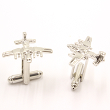 Star Wars empire cufflinks galactic empire enthusiasts plane shirt cuff button cuff links silver plated jewelry brand