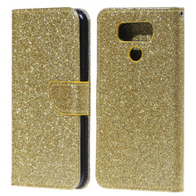 Buy 1pcs 2 Card Slots Bling Glitter Powder Leather Case Stand LG G6 for $5.00 in AliExpress store