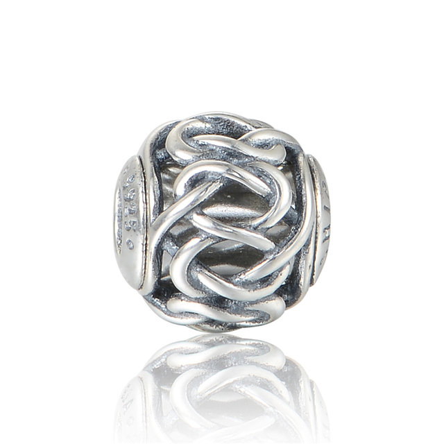 Сущность бусины дружбы 925 серебряные ювелирные изделия бусины Fit сущность браслет ( тоньше один ) оптовая продажа DIY ювелирных