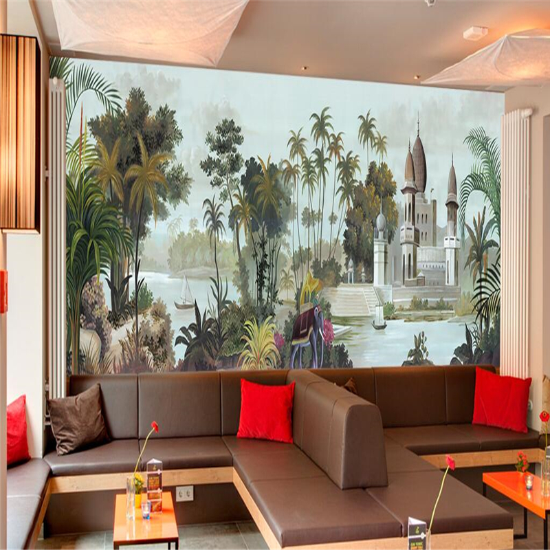 Asian wall murals promotion shop for promotional asian for Asian mural wallpaper