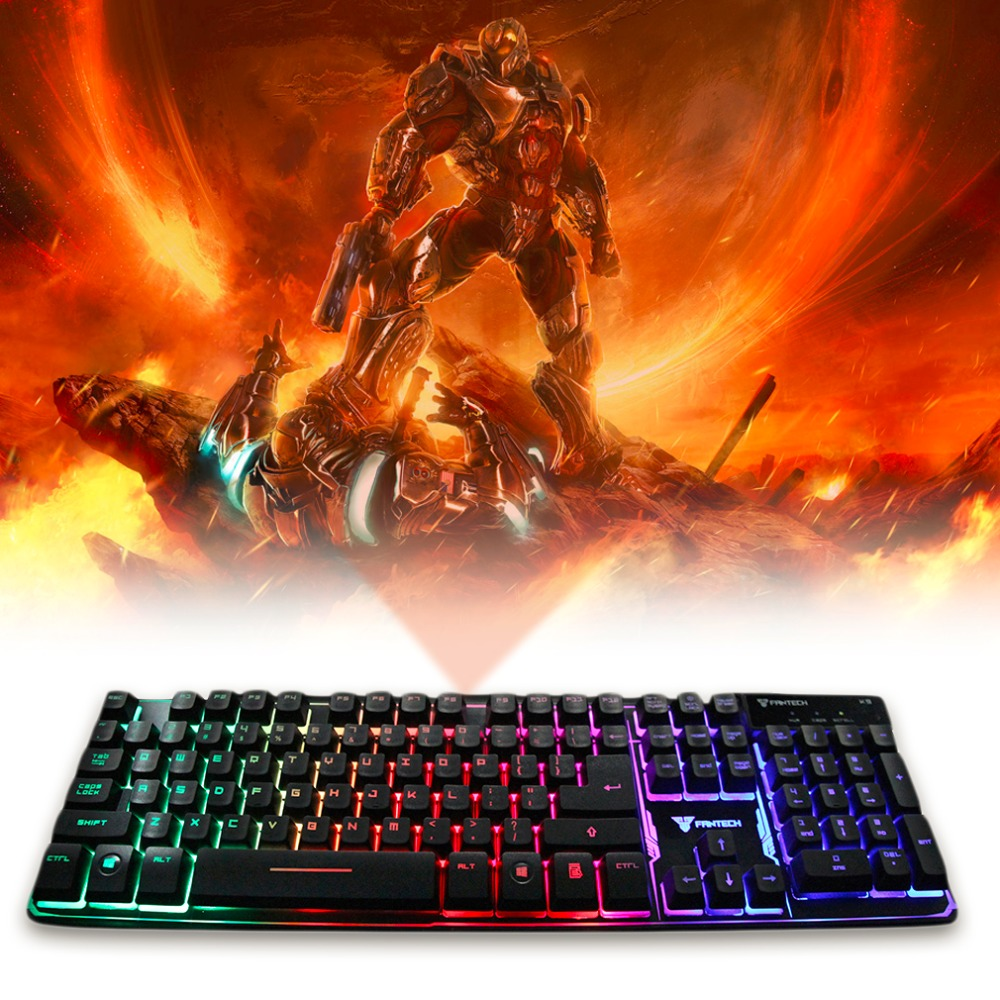 Newly K9 Floating keys Magnet booster Chroma Luminous Light Gaming Keyboard(China (Mainland))