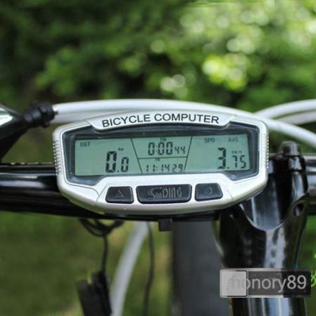 New Sporting LCD Bicycle Bike Computer Odometer Speedometer With Backlight ZMB005(China (Mainland))