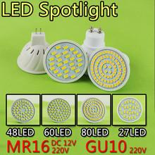 Buy New Arrival 10PCS/LOT SMD 2835 GU10 LED Lamp 220V 230V 240V LED Spotlight 6w 9w 12w Light Bulbs 48 60 80LEDs Home Chandelier for $14.45 in AliExpress store