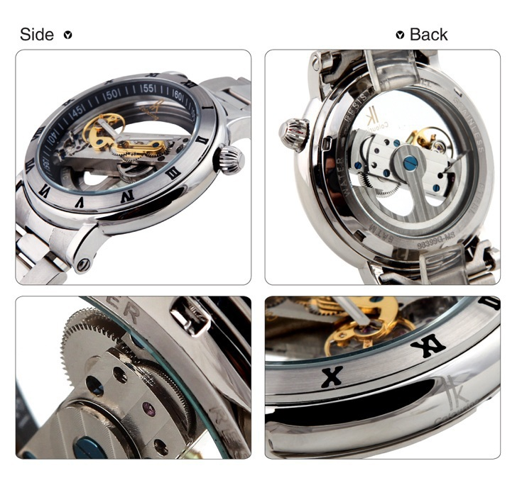 watch picture more detailed picture about 2015 new fashion fashion transparent full steel men s automatic mechanical watches 50m excellent waterproof watch