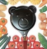 Free shipping LOVE BEAR Fried eggs pan non-stick frying pan (no cover)