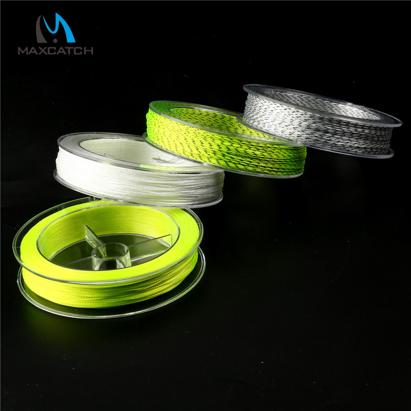 Fly fishing double color backing line 100yards 20lb for 20 lb braided fishing line