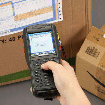 LS5000 industry handheld mobile terminal pda with windows CE os, 2D scanner,wifi,USB(Hong Kong)