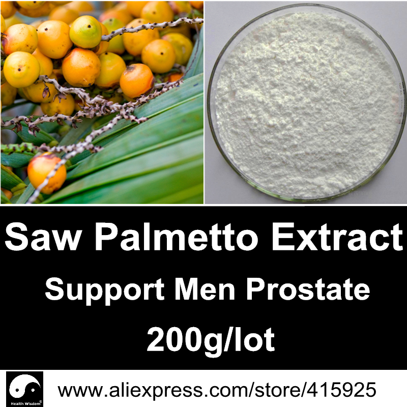 Pure Saw Palmetto Fruit Berry Extract Powder 10:1 For Men Prostate Health Care Herbs Supplements(Fatty Acid And Sterols)<br><br>Aliexpress