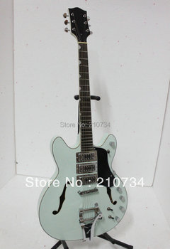 NEW  White Custom 3 Pickups Jazz  Electric Guitar High Quality A1233