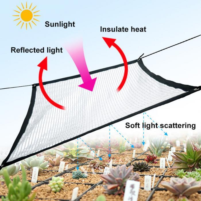 Защита от ультрафиолетовых лучей для сада на крыше из алюминиевой фольги HG99 -
