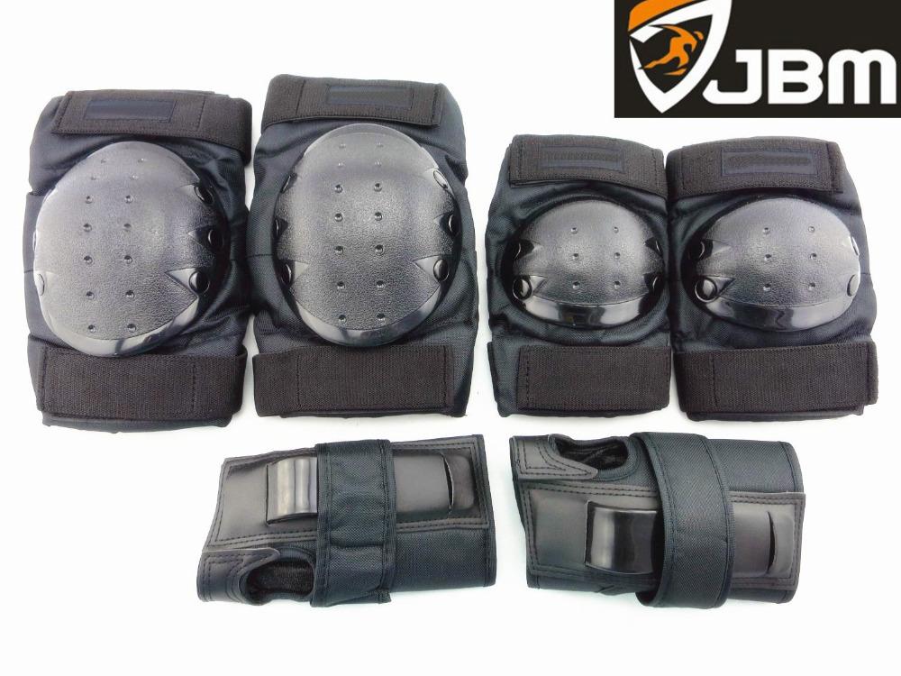 JBM Knee Elbow Wrist child limit sports protective gear ski skating safety pads(China (Mainland))
