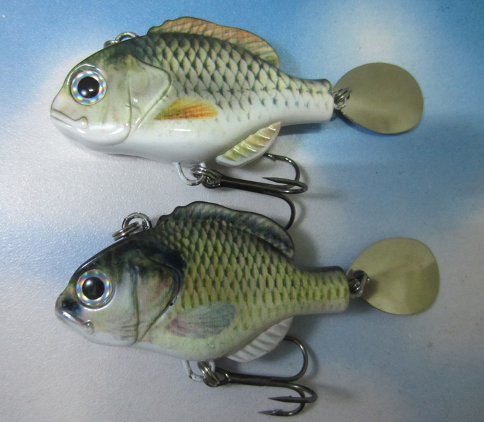 VIB Spinner Fishing Lures Hard Baits Paillette Spoon Fish Hook Tackle - discover fun store