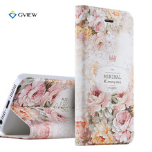 5S SE Case Luxury PU Leather 3D Relief Printing Stereo Feeling Flip Cover Case For iPhone 5S 5 SE Stand Phone Bag Shell Fundas(China (Mainland))