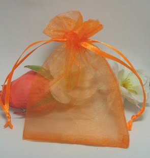 Supply Orange Color The Gift Wedding Favor Party Candy Yarn Band Reasonable Price ,Size:9*12,Free Shipping(China (Mainland))