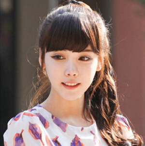 Гаджет  2015 front hair bangs extension clip Fashion heat resistance fibre synthetic hair fringe lady women girl cute hair fringe bangs None Волосы и аксессуары