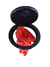 """10"""" Kayak Deck Plate Hatches with Storage Bag Boat Hatches Cover Kit for Boat Kayak(China (Mainland))"""