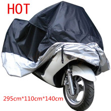 Big Size Motorcycle Cover XXXXL Waterproof Outdoor UV Protector Bike Rain Dustproof,Covers for Motorcycle, Motor Cover Scooter G
