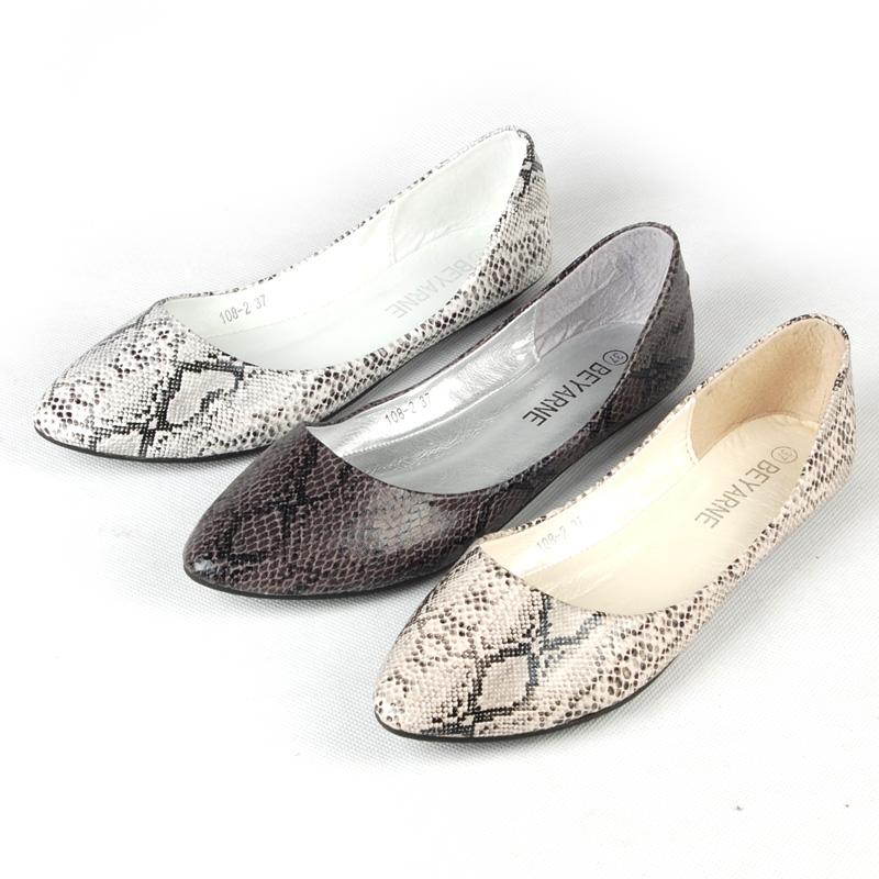 2015 Spring women flats leopard print fashion shoes flat heel zapatos mujer plus size - miyake mei's store