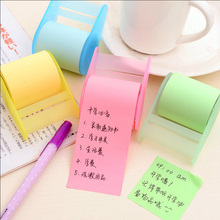 1 x fluorescent paper sticker memo pad sticky notes post kawaii stationery material escolar school supplies - ANSI LIFE store